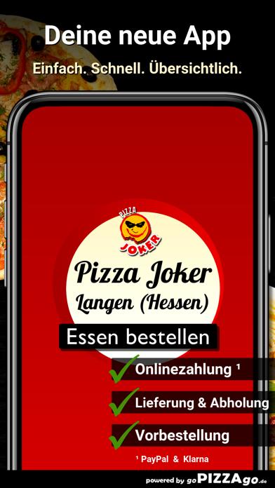 Pizza Joker Langen (Hessen) screenshot 1