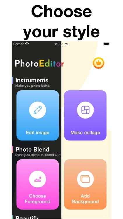 Photo Editor & Collage Effects screenshot-5