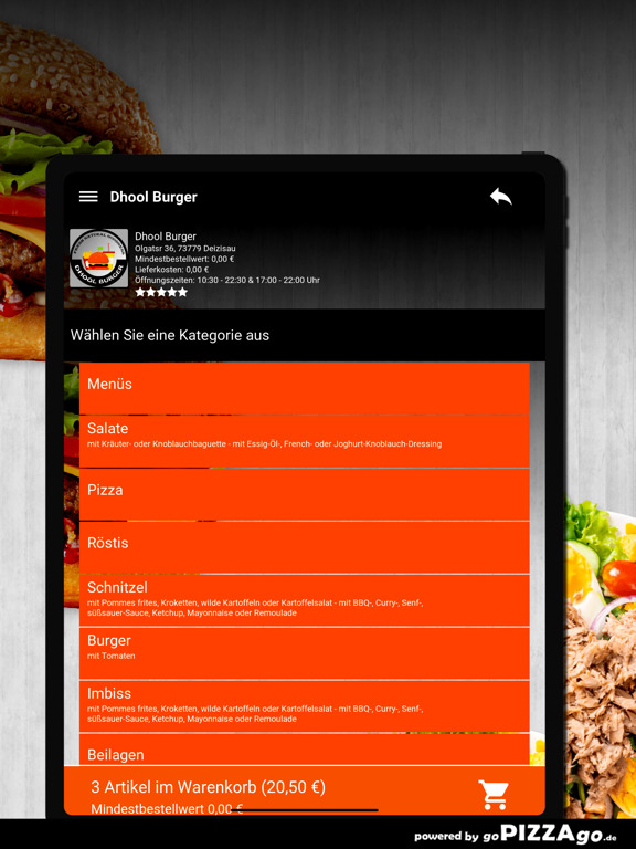 Dhool Burger Deizisau screenshot 8