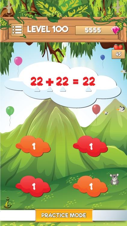 Math Quiz Games-Brain Test