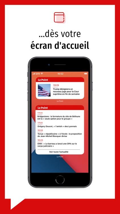 Le Point journal & actualités screenshot-3