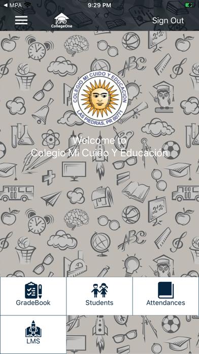 Colegio mi Cuido y Educación screenshot 2