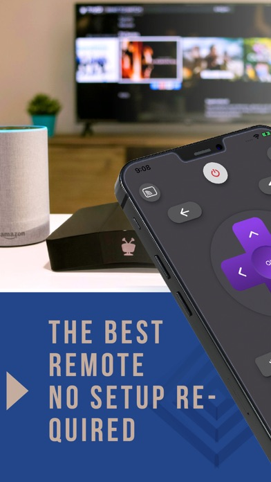 Remote Control for Roku TV. Screenshot