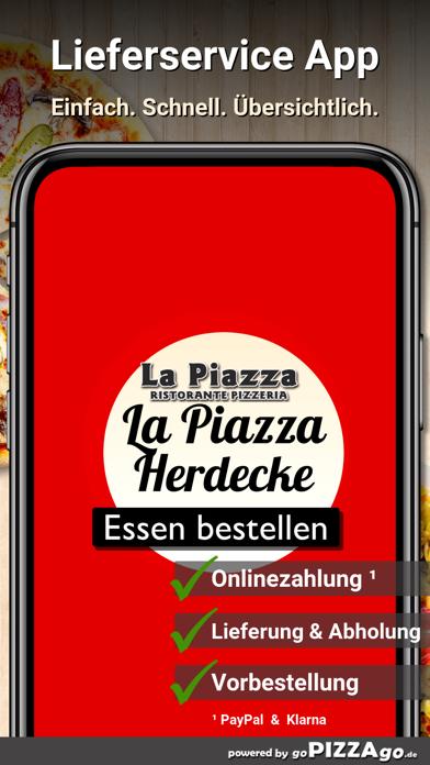 Ristorante La Piazza Herdecke screenshot 1