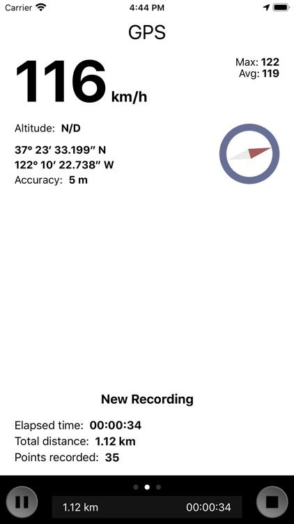 GPS Stone (GPX Trip Recorder)
