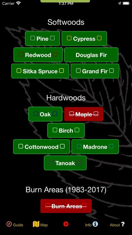 Oregon SW Mushroom Forager Map screenshot-4