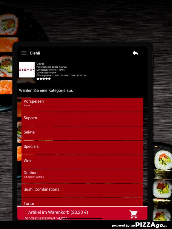 Oishii Aachen screenshot 8