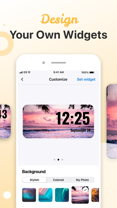 Custom Widgets - Design & Use screenshot 2
