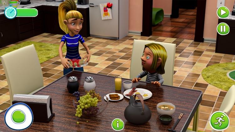 Twins Babysitter Daycare Game screenshot-3
