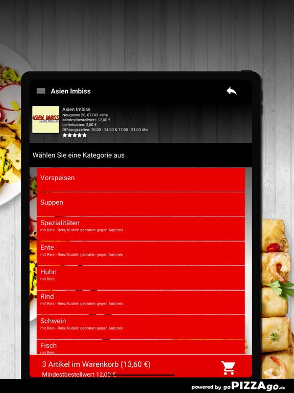 Asien Imbiss Jena Pizza screenshot 8