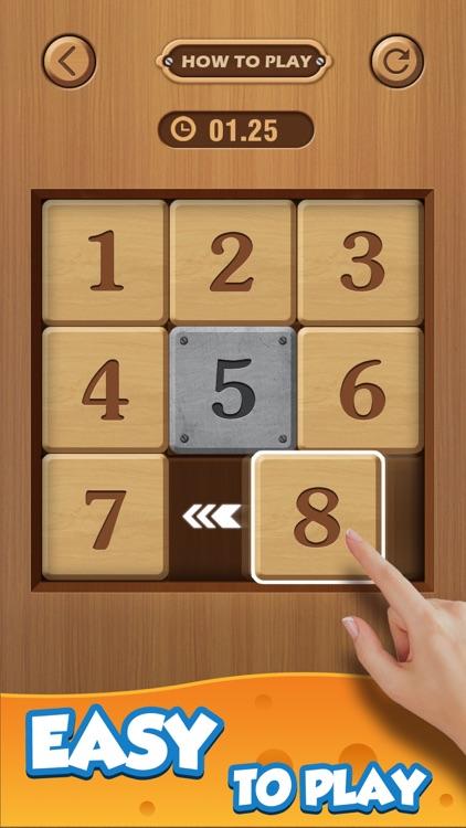 Number Puzzle: Wood Block 3D screenshot-0