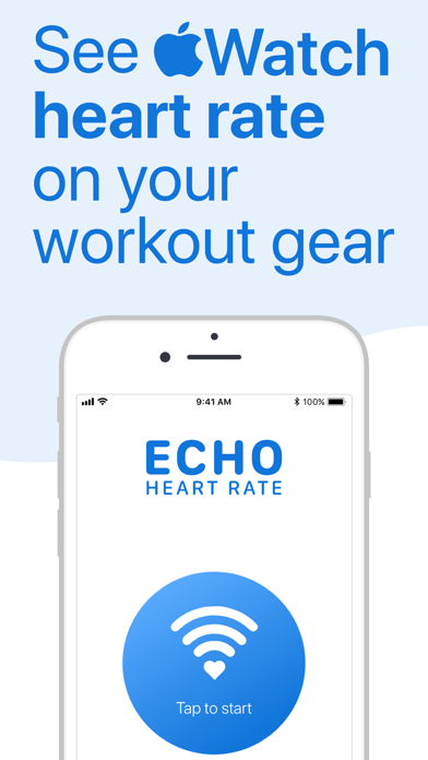 ECHO BLE Heart Rate from Watch Screenshots