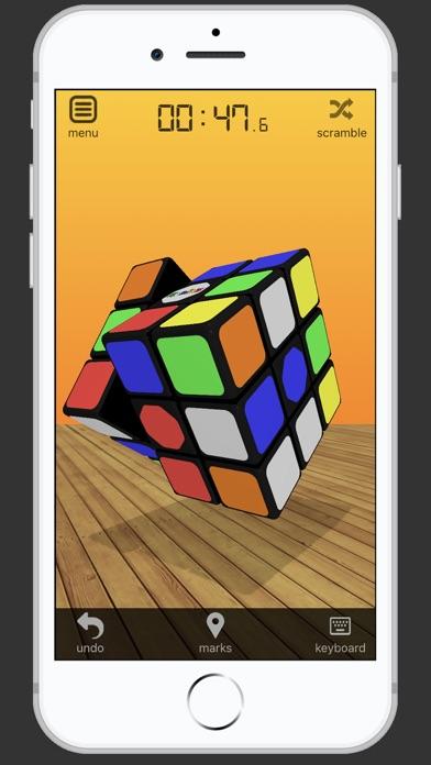 3D Rubik's Cube screenshot 1