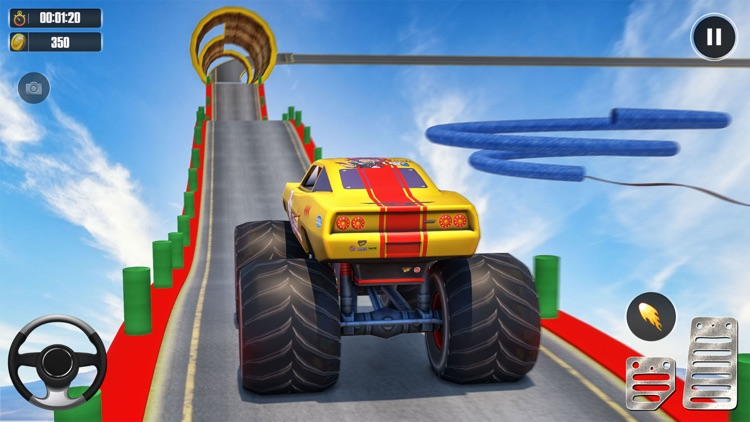Superhero Racing Car Stunts