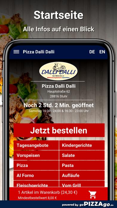 Pizza Dalli Dalli Stuhr screenshot 2