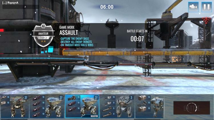 Mech Wars -Online Robot Battle screenshot-4