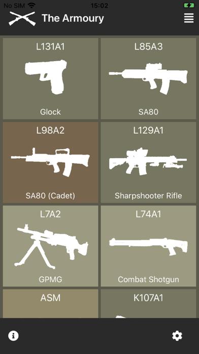 Armoury screenshot 1