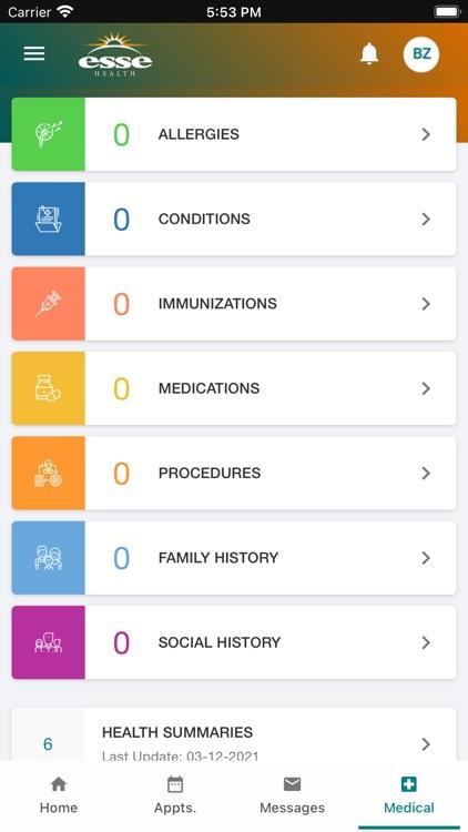 My Esse Health screenshot-4