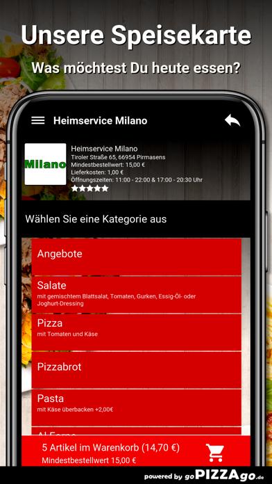 Heimservice Milano Pirmasens screenshot 4
