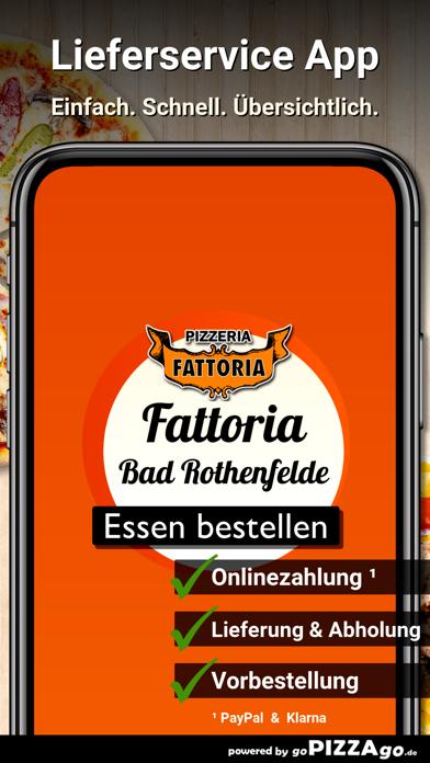 Pizzeria Fattoria Bad screenshot 1