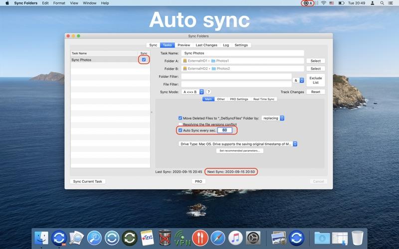 Sync Folders Screenshot