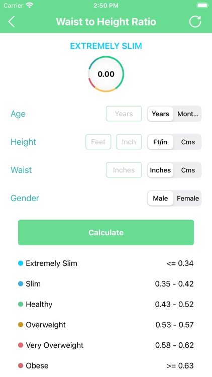 BMI Calculator - BMI Tracker