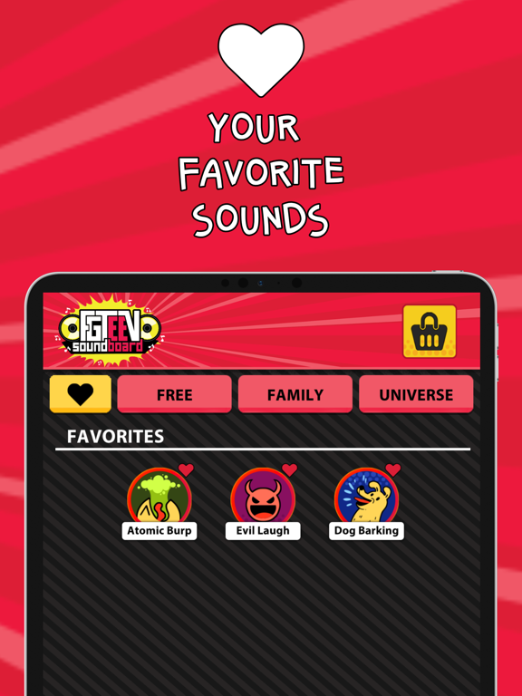 iPad Image of FGTeeV SoundBoard