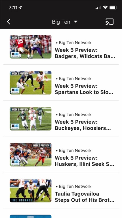 Big Ten Network+ screenshot-6