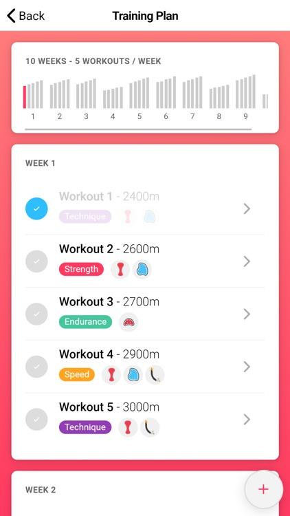 Swim Coach - Training App screenshot-3