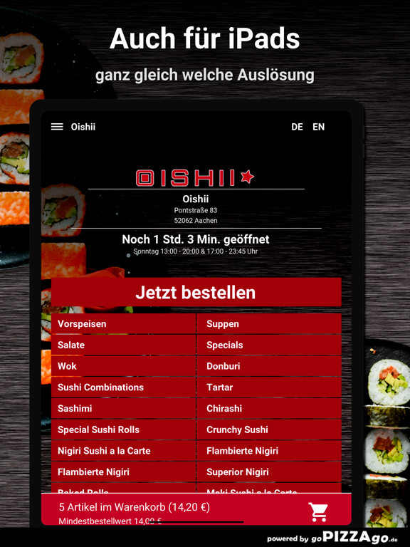 Oishii Aachen screenshot 7