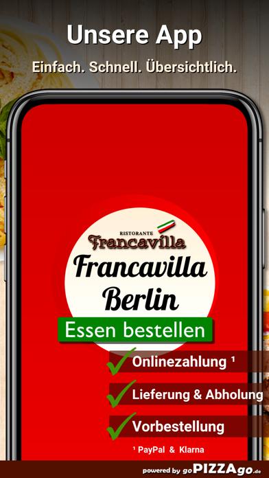 Francavilla Berlin screenshot 1