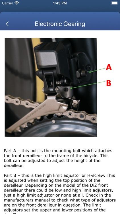Bicycle Maintenance Guide screenshot-3
