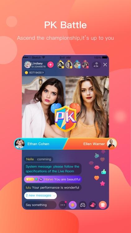 LiveU-Go Live Stream,Live Chat screenshot-4