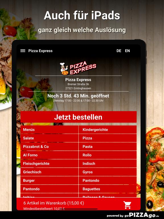 Pizza Express Emtinghausen screenshot 7