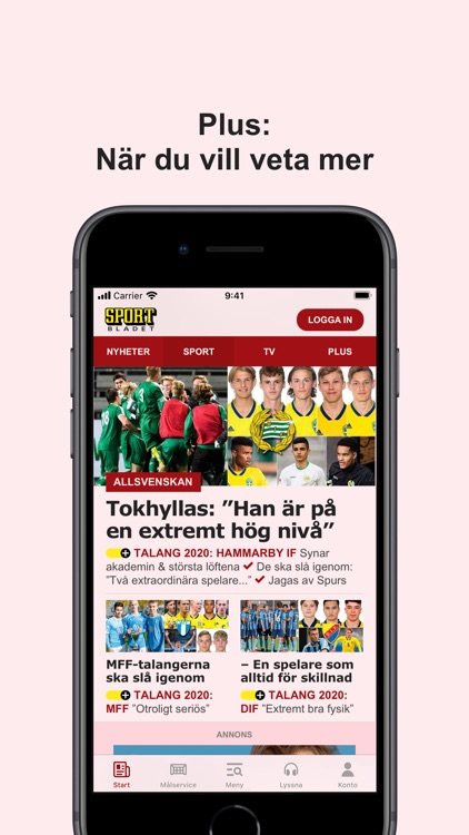 Sportbladet screenshot-4