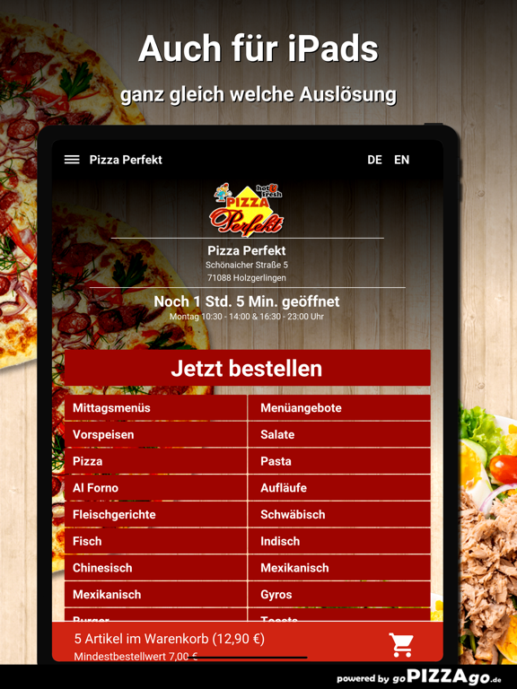 Pizza Perfekt Holzgerlingen screenshot 7