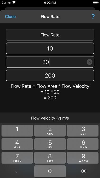 Fluid Mechanics Calculator screenshot-8