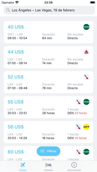 iTraveler - flights and hotelsCaptura de pantalla de3