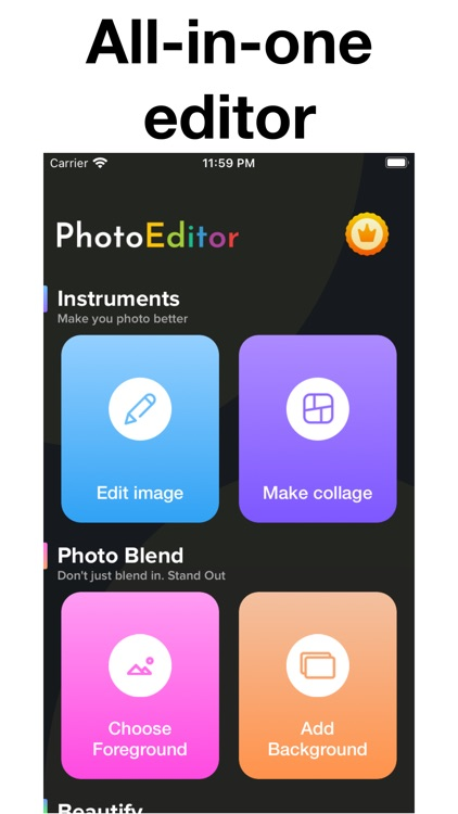 Photo Editor & Collage Effects screenshot-4