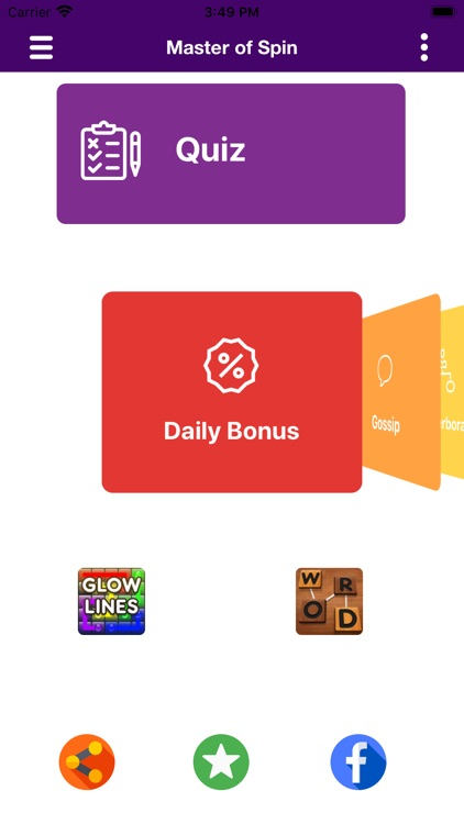 Master of coins - Daily spins