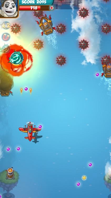 Sky Glider 3D: Airplane games screenshot-5