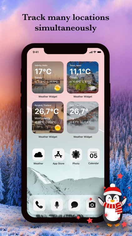 Weather Widget App