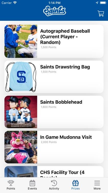 Saints Baseball screenshot-4