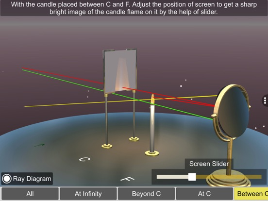Concave mirror properties screenshot 17