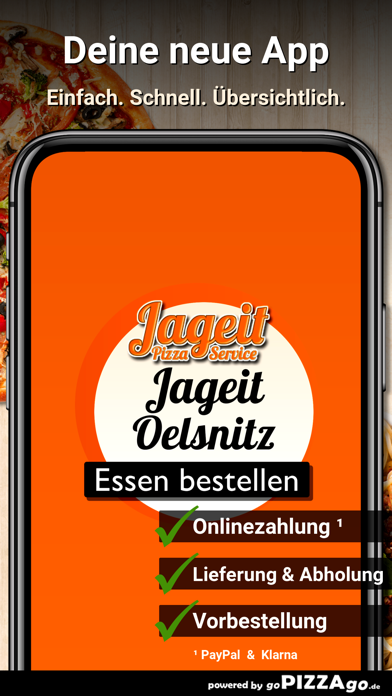Jageit Pizza Service Oelsnitz screenshot 1