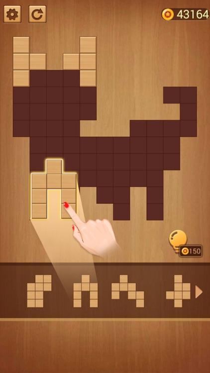 方块拼图 - 益智力方块拼图游戏 screenshot-4