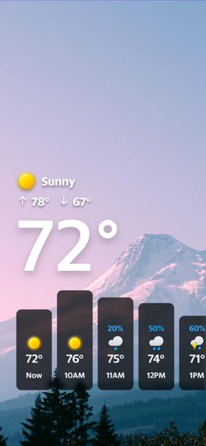Yahoo Tempo Screenshot