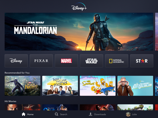 Disney+ Screenshots