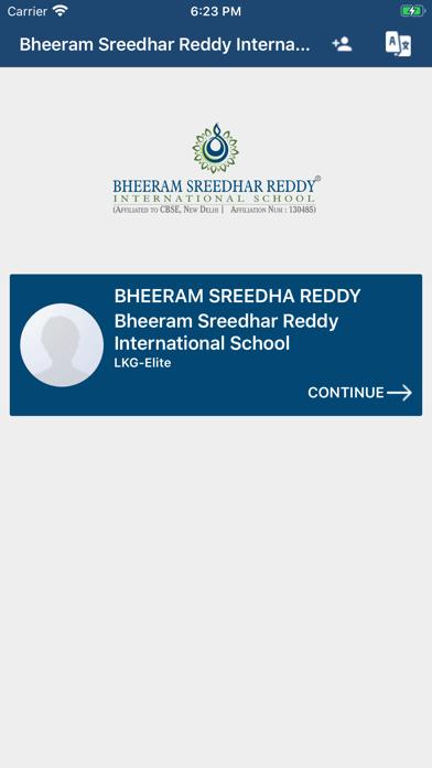 Bheeram SRIS Parent App screenshot 1