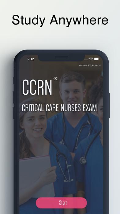 CCRN Adult Critical Care Exam. screenshot 1